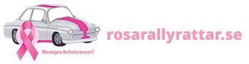Rosa rallyrattar Logotyp